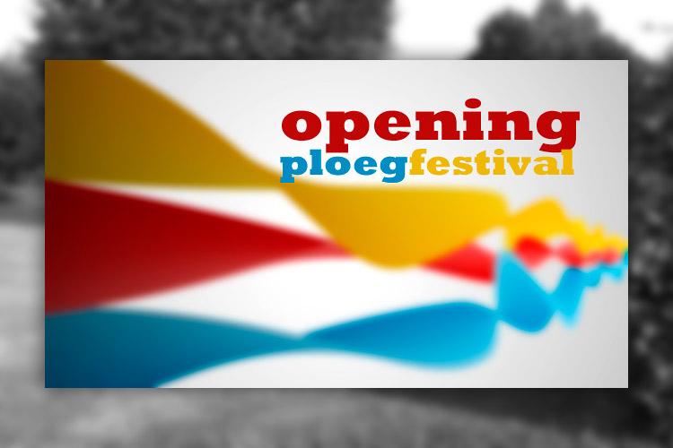 Opening eerste Ploegfestival